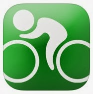 GPS cycling computer app
