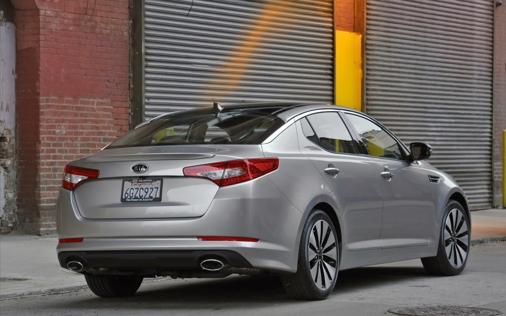 Kia Optima Hybrid Car Wallpaper