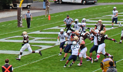Lehigh Puts Pedal to Metal, Beats Georgetown 45-24