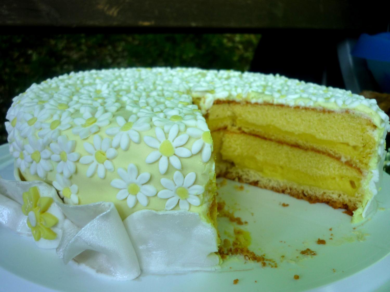 Silvi 39 S Kitchen Torta Al Limone Decorata Ricetta E Immagini