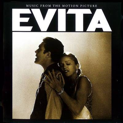 Evita: Music From The Motion Picture (this was what our album's cover looked like)