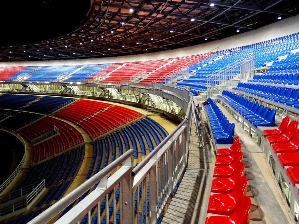Estadio de Bata lavori di ristrutturazione