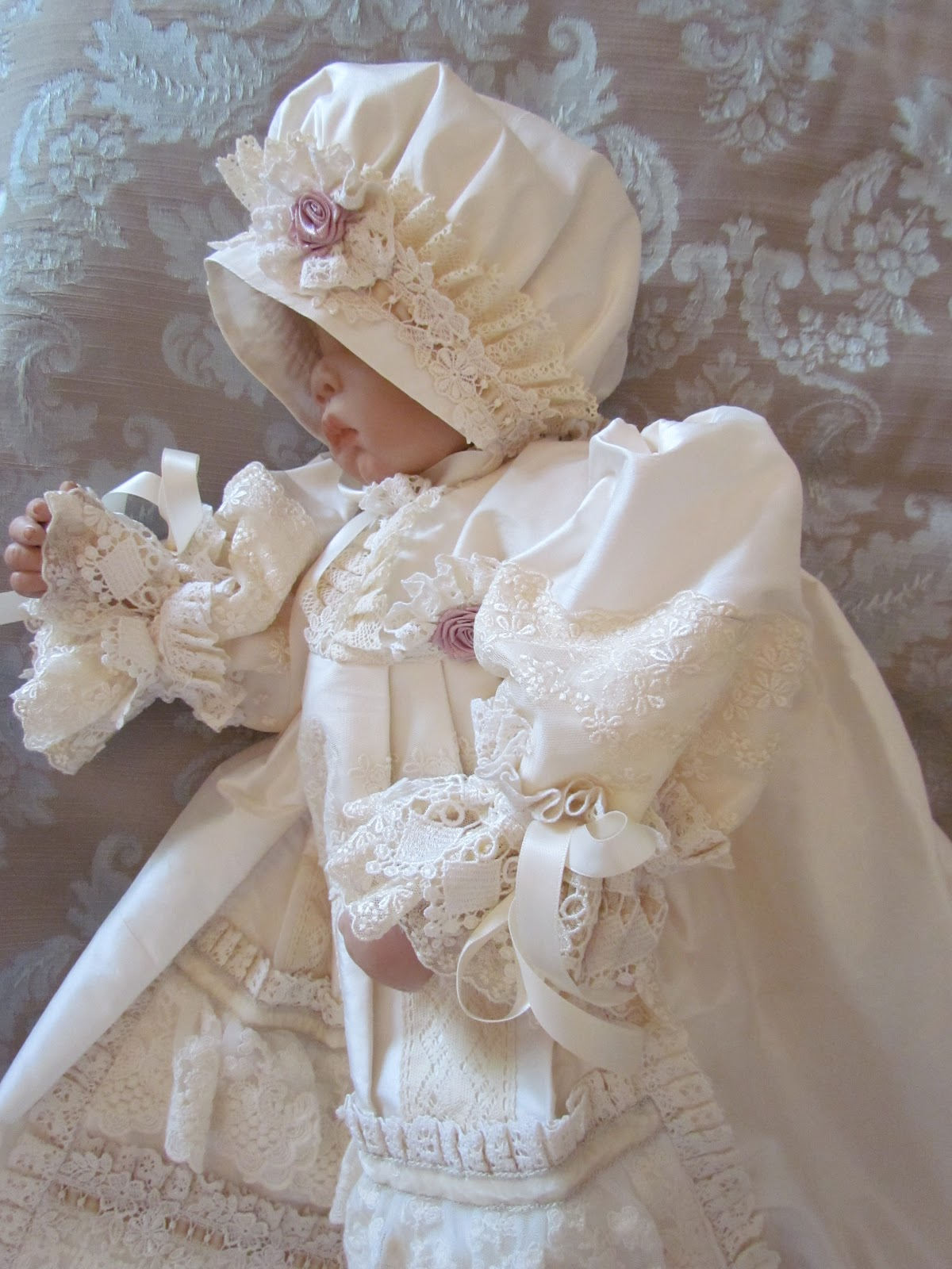 Victorian Style Baby Dress Angela Lace