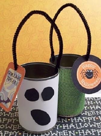 Econotas.com: decoración para halloween con materiales reciclados ...