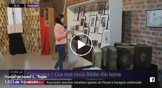 Digi TV despre Muzeul Bibliei