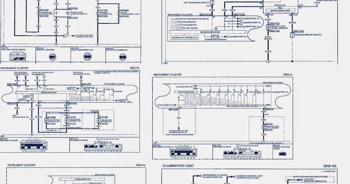 2008 Mazda 3 Wiring Diagram