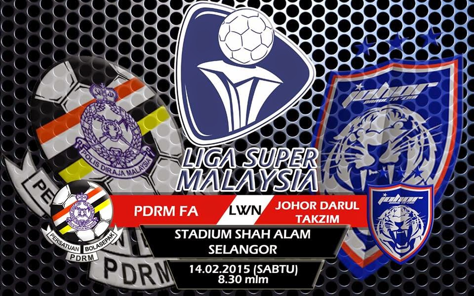 Video Gol Perlawanan PDRM Vs JDT 14 2 2015