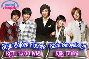 "Sinopsis Drama Korea RCTI ""Boys Before Flowers"""