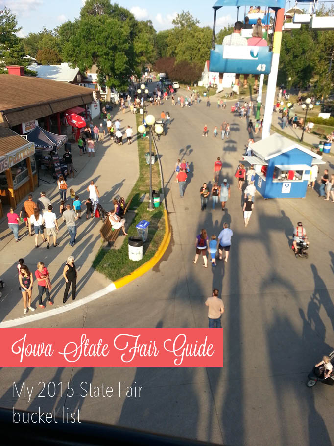 My bucket list for the 2015 Iowa State Fair Guide