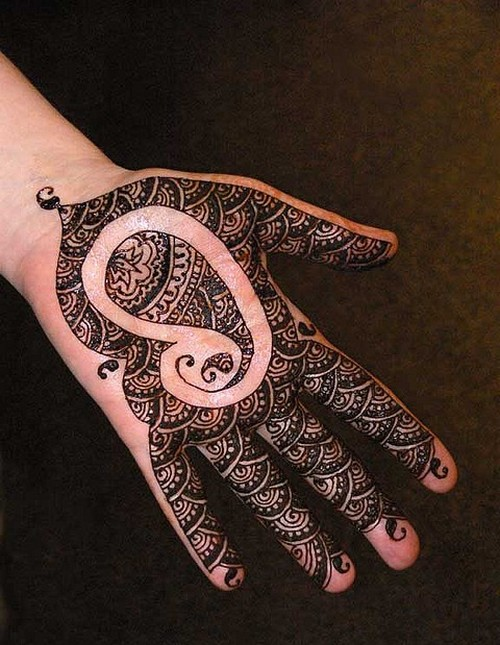 Mehndi Patterns For Small Hands : Mehndi design for hands small