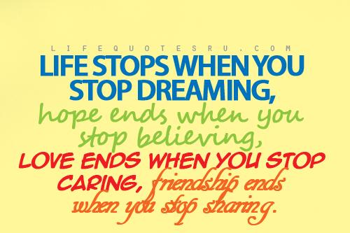 20 Cute inspiring life quotes | Eilac