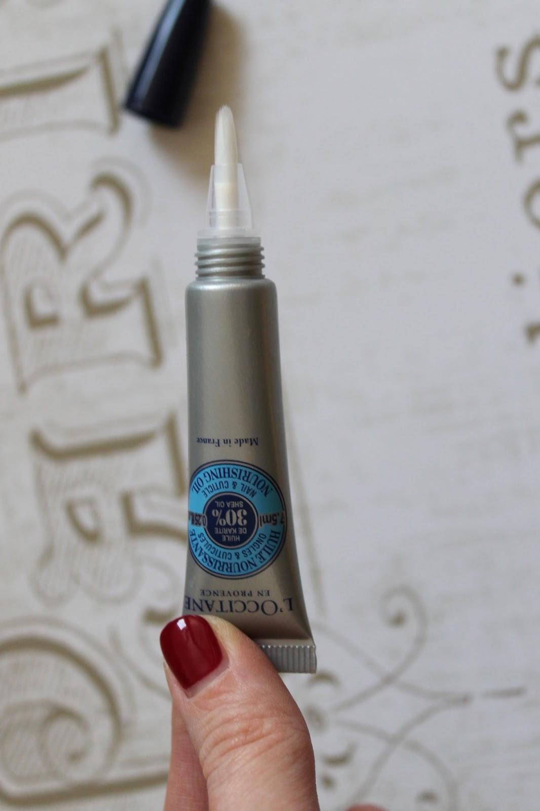 Skincare | L\'Occitane Shea Nail & Cuticle Nourishing Oil - BecBoop