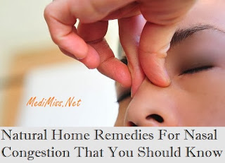 Natural Home Remedies For Nasal Congestion That You Should Know