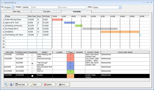 IDRA Software Feature Design Manager