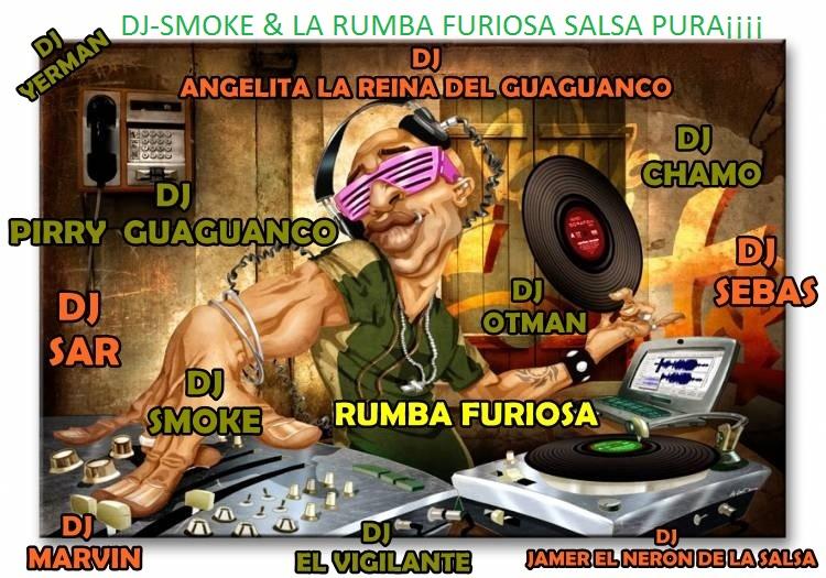 DJ-smoke.Lks & RUMBA FUIRIOSA - Pura Salsa De Coleccion-