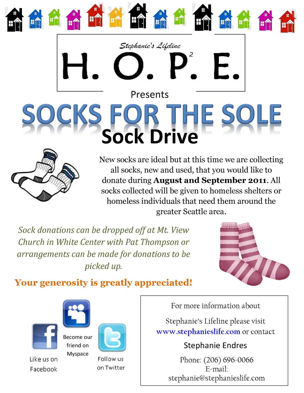 donation flyer