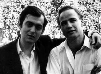 Stanley Kubrick e Marlon Brando