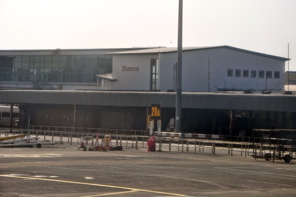 Irland 2014 - Tag 1 | Ankunft am Shannon Airport