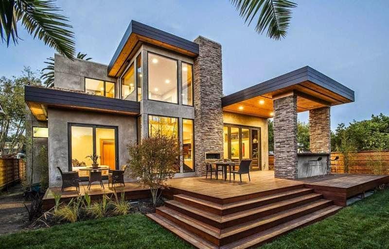 Model Rumah minimalis 2014 Gaya eropa