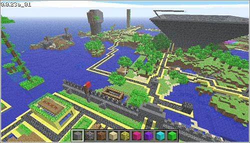 Todo sobre minecraft 04 13 13 - La casa mas segura del mundo ...