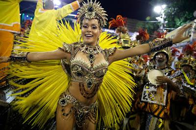 Brazil Rio de Janeiro carnival 2016