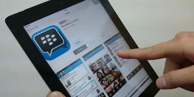 تحميل BBM للايباد
