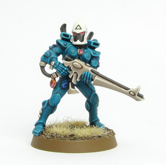 Mis Olvidadas Figuras: Tale of Paintesr: Tutorial: How to paint Eldar Cra...