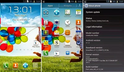 Cara Ganti Tampilan Andromax U Menjadi Sony Xperia/Samsung S4
