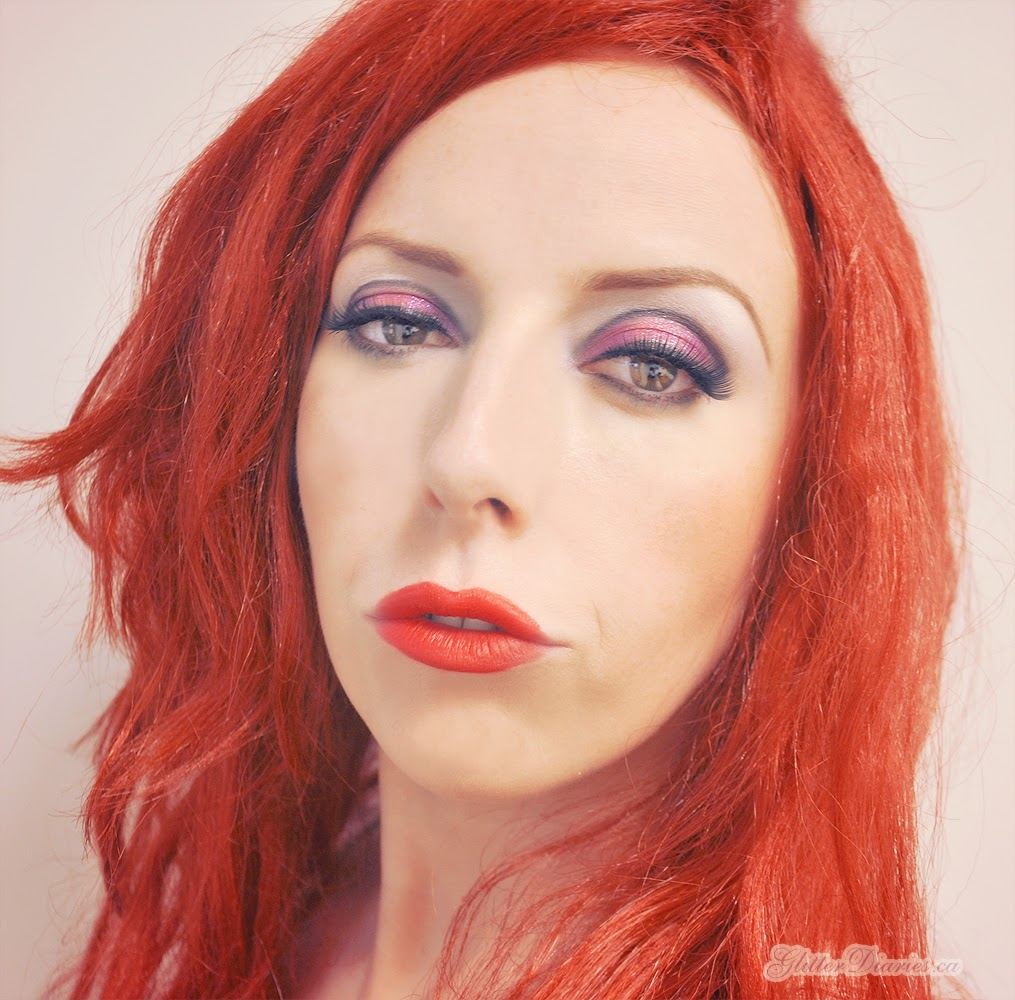 Halloween Makeup Tutorial: Jessica Rabbit