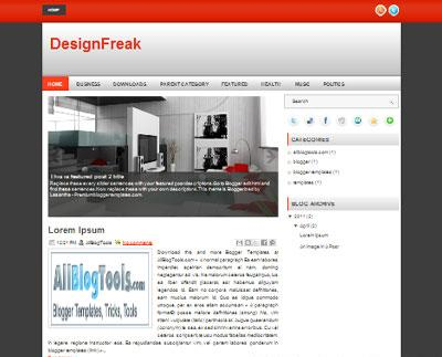 design freak العبقرى :  قالب