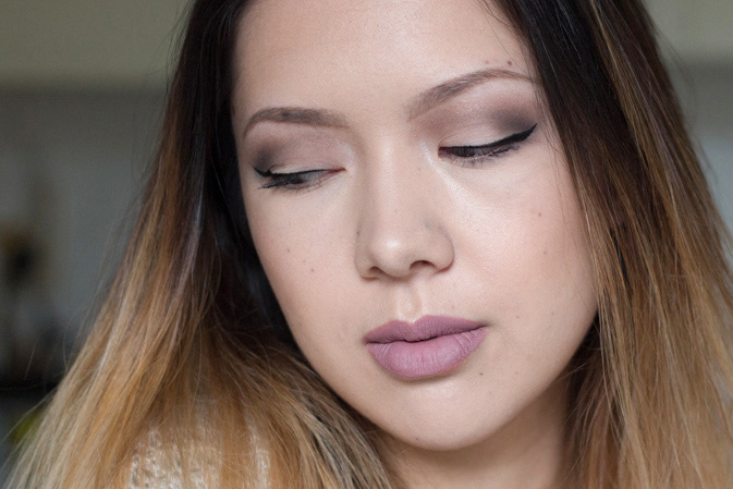 2015 holiday makeup look kat von d shade light eye palette