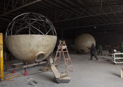 Esferas para sobrevivir al fin del mundo
