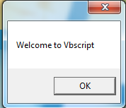 Vbscript Example Message