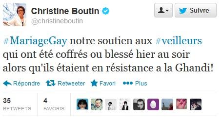 Boutin tweet Gandhi