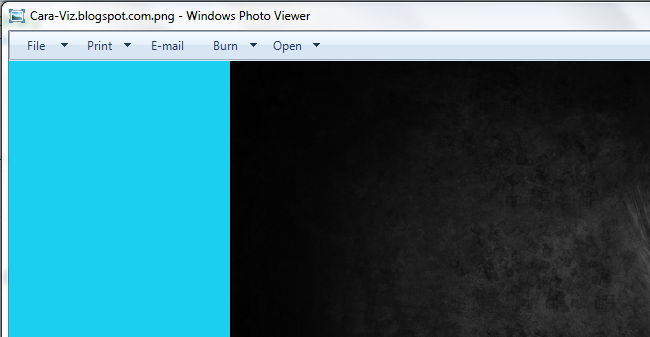 Cara Merubah Warna Background pada Windows Photo Viewer