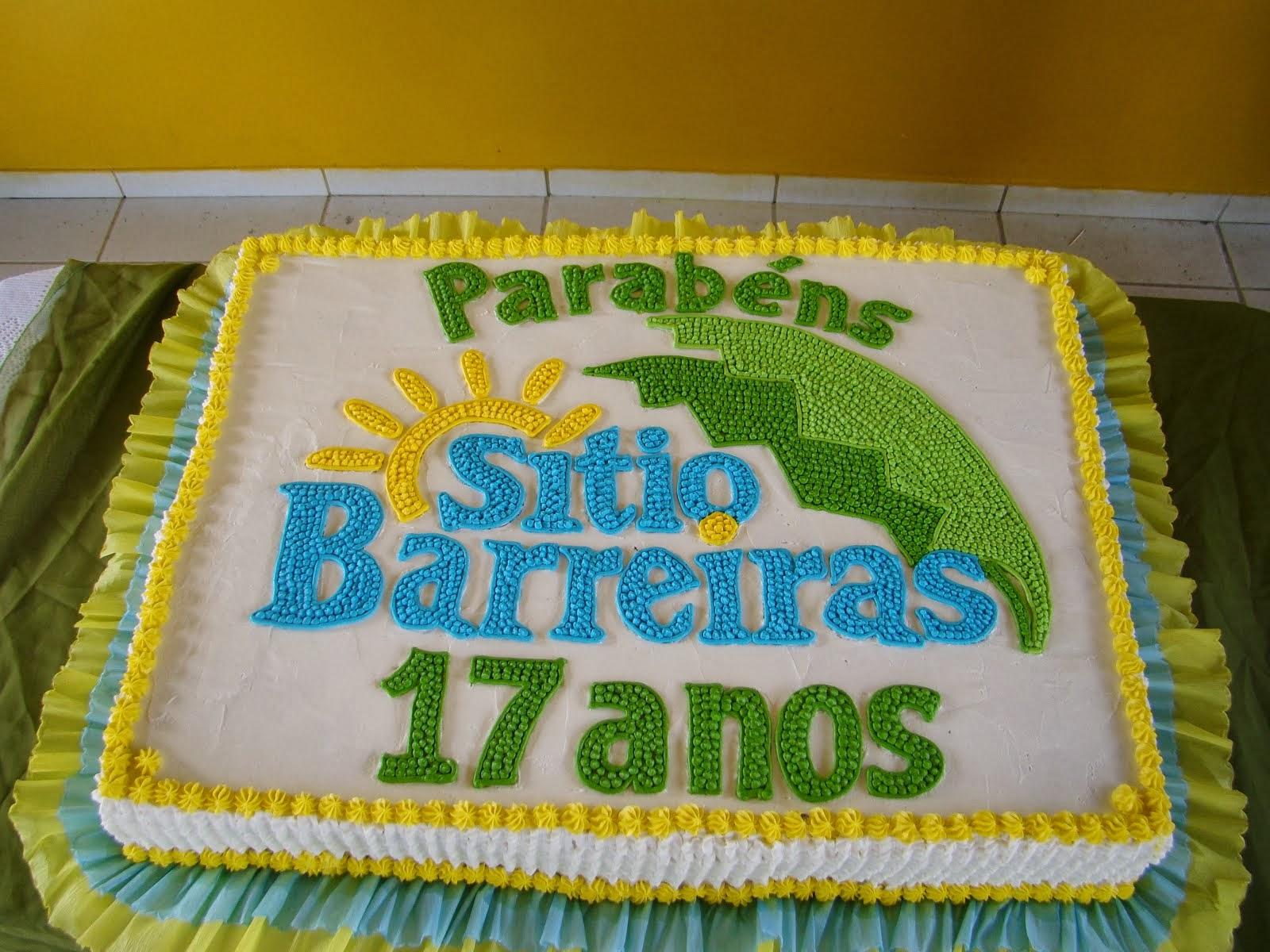 Aniversário de 17 anos da empresa Sítio Barreiras