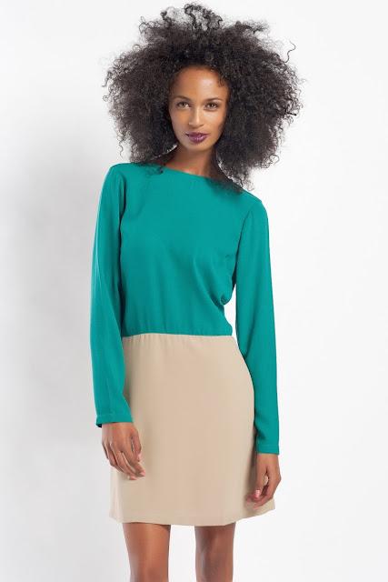 yeşil kısa dar kesim elbise