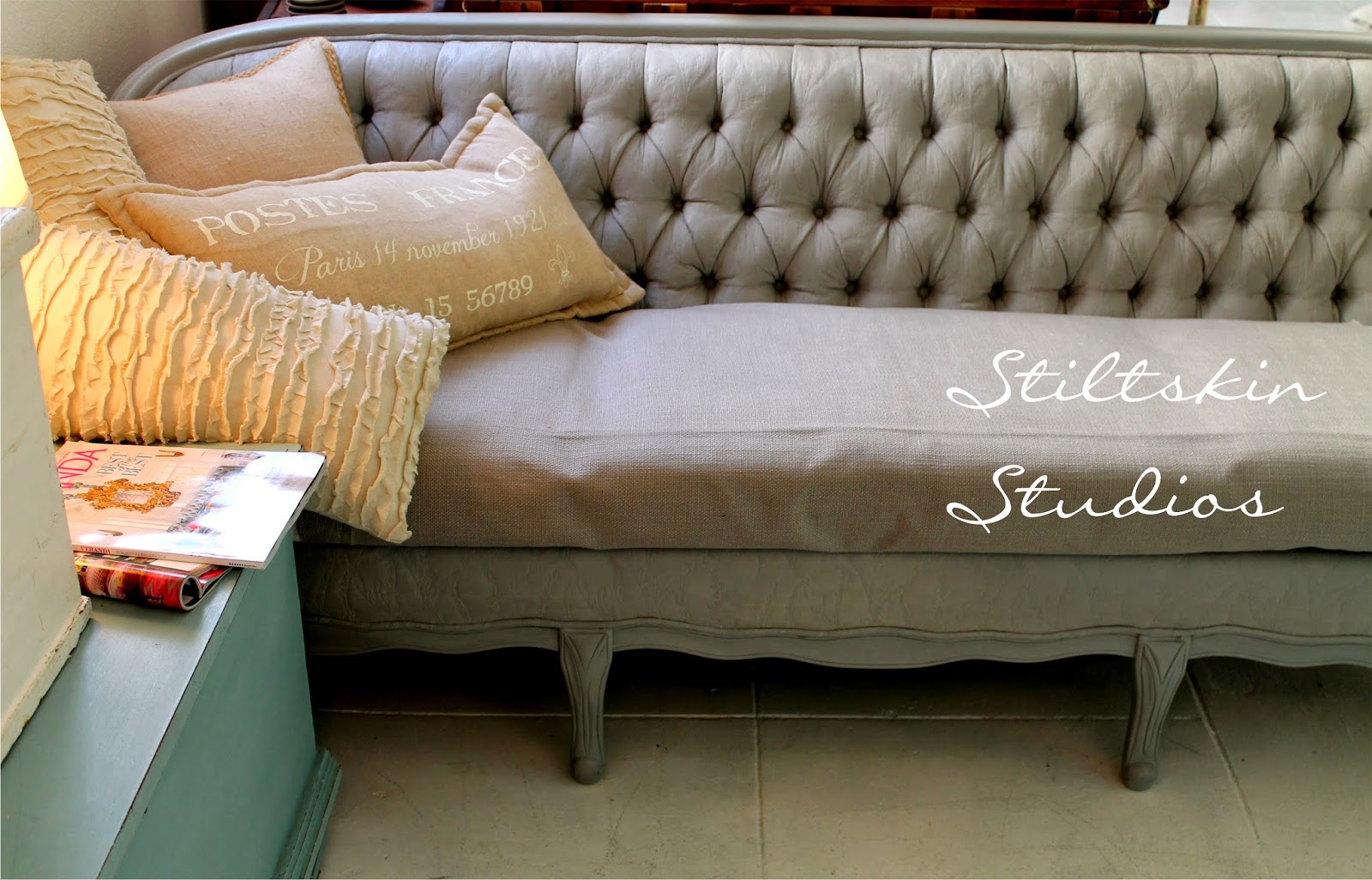 Stiltskin Studios The Painted Couch