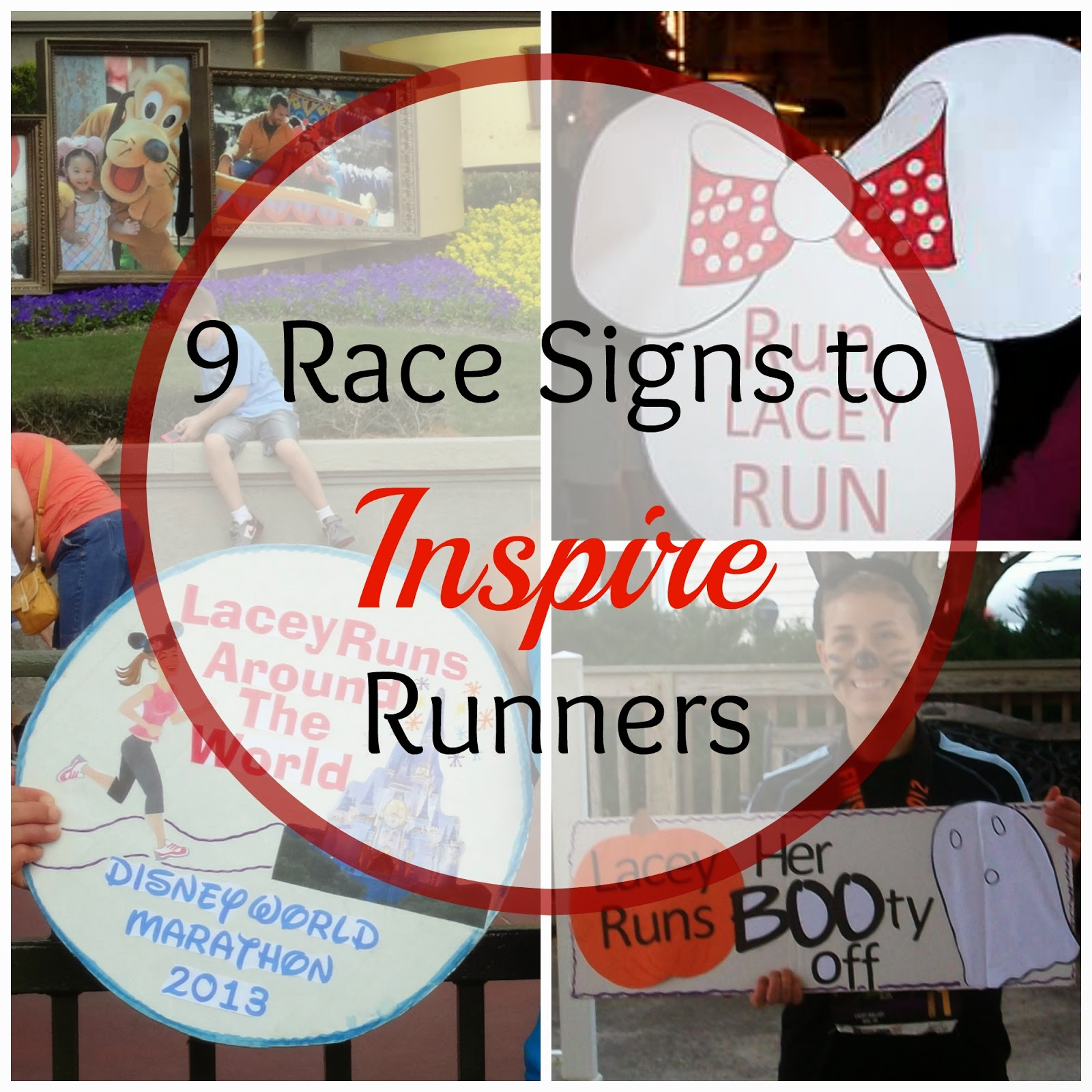Fairytales And Fitness Runner Signs That Inspire Us