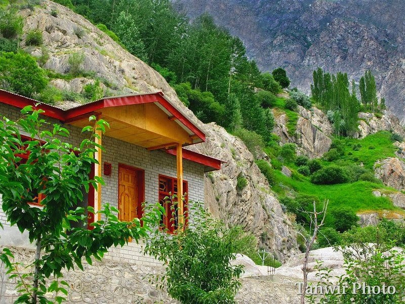 Shardah Village, Neelum Valley, Kashmir.