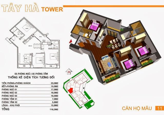 Chung Cư Tây Hà Tower, chung cu tay ha tower, 16