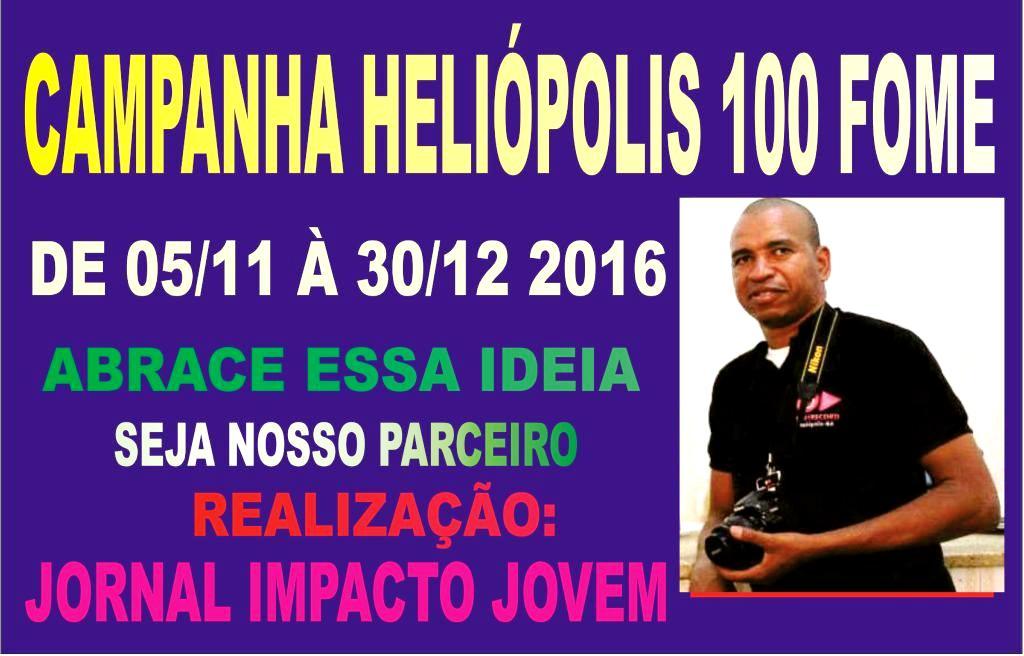 CAMPANHA HELIÓPOLIS 100 FOME 2016