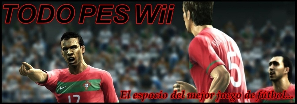 Todo PES Wii