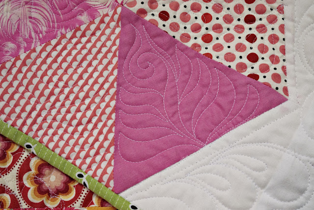 fern feather quilting