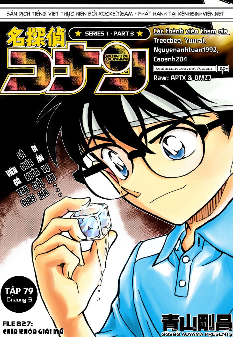 Detective Conan - Thám Tử Lừng Danh Conan chap 827 page 2 - IZTruyenTranh.com
