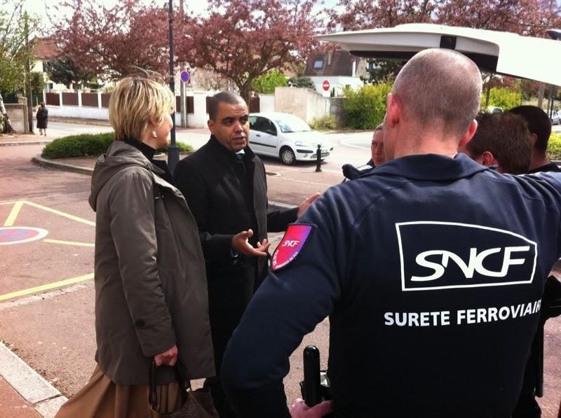 Visite des équipes SUGE dans les Yvelines