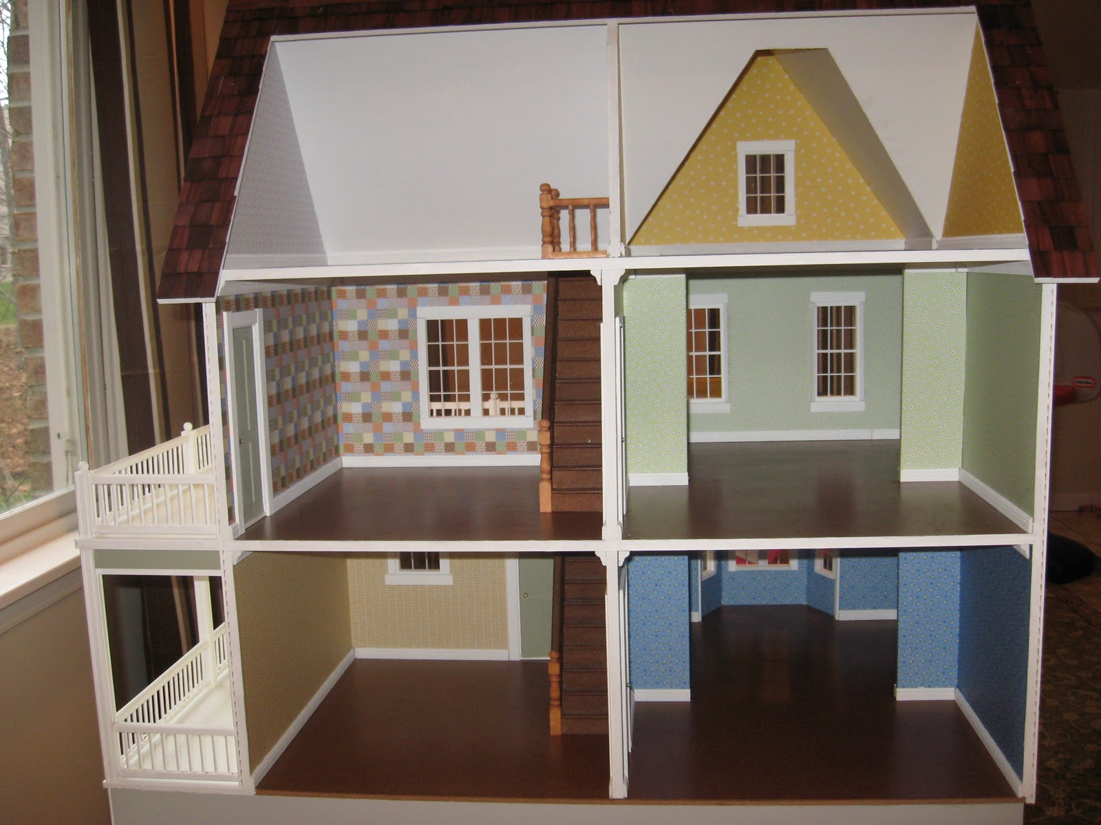 Little Darlings Dollhouses Victorias Farmhouse