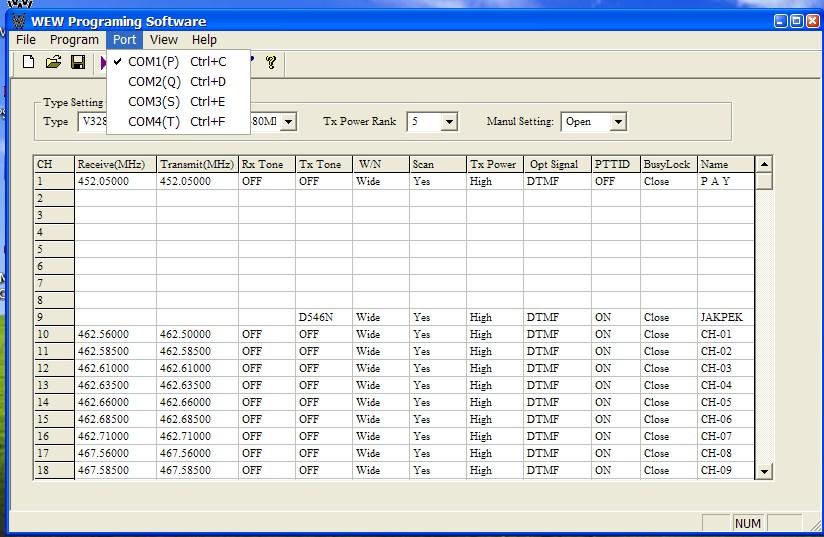 weierwei vev 3288d software