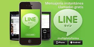 LINE enviar sms gratis
