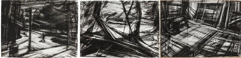 Drawings 2009 / 2014 - 100 x 50 cm / 66 x 52 cm
